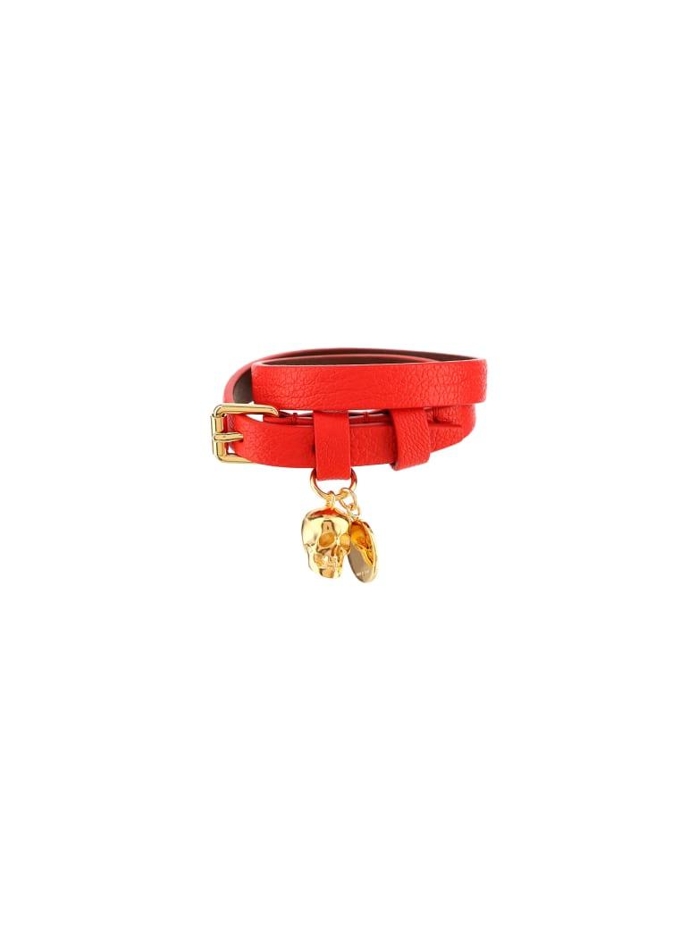 Alexander McQueen Bracelet - Lust red