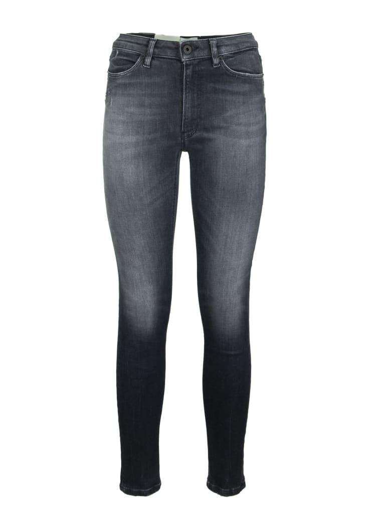 Dondup Jeans Super Skinny Trousers Iris Black - Black