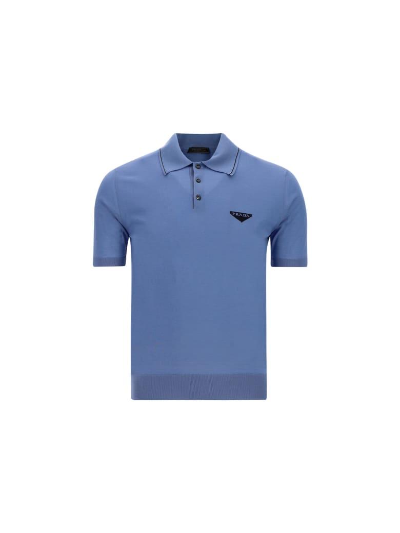 Prada Polo Shirt - Bluette