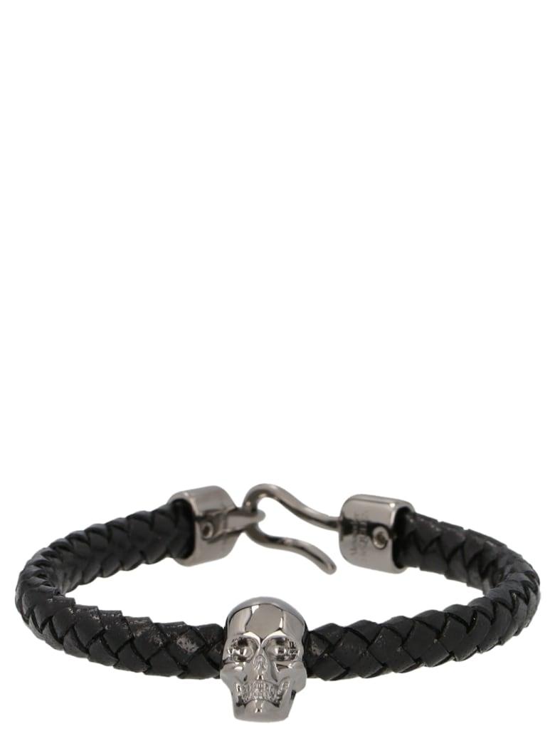 Alexander McQueen 'skull' Bracelt - Black