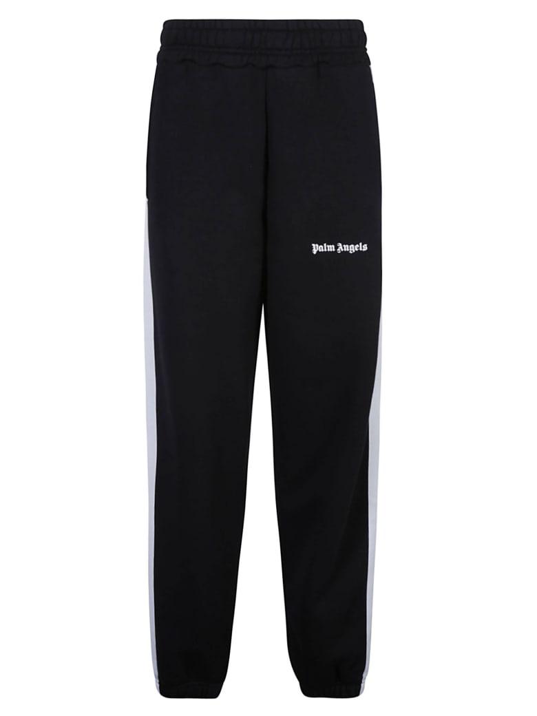 Palm Angels Logo Track Pants - Black/White