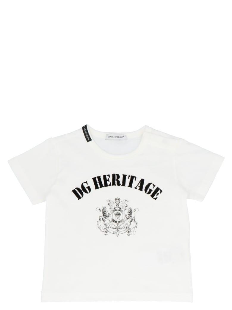 Dolce & Gabbana 'dg Heritage' T-shirt - Black&White