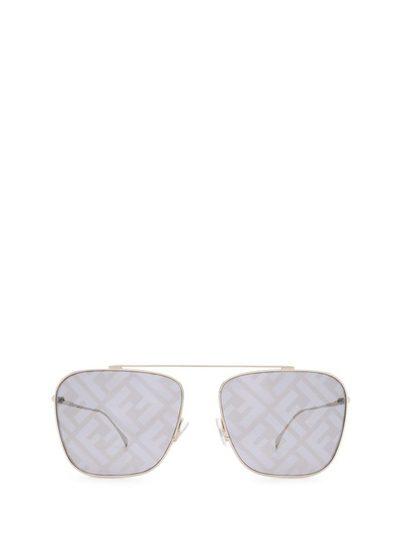 Fendi Fendi Ff 0406/s Silver Sunglasses - Silver