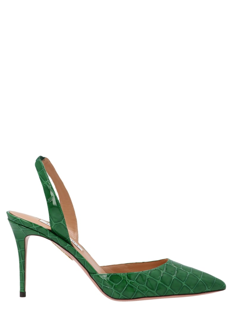 Aquazzura 'so Nude' Shoes - Green