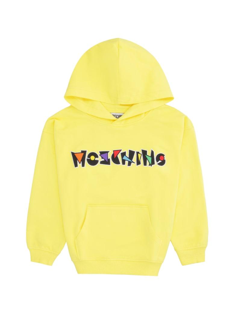 Moschino Cotton Hoodie - Yellow