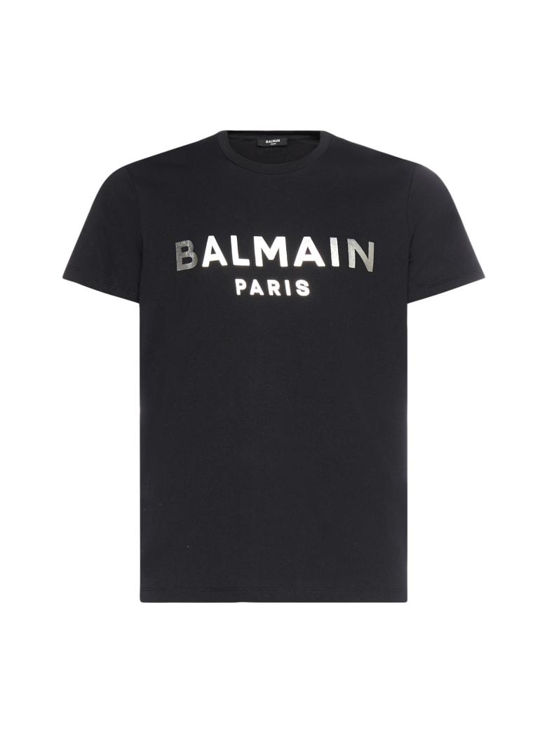 Balmain T-Shirt - Noir argent
