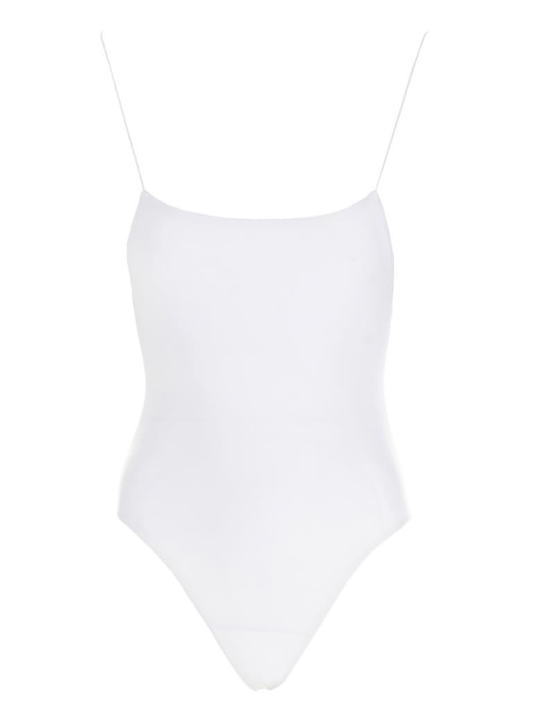 Jade Swim 'micro Trophy One Piece' Swimsuit - White