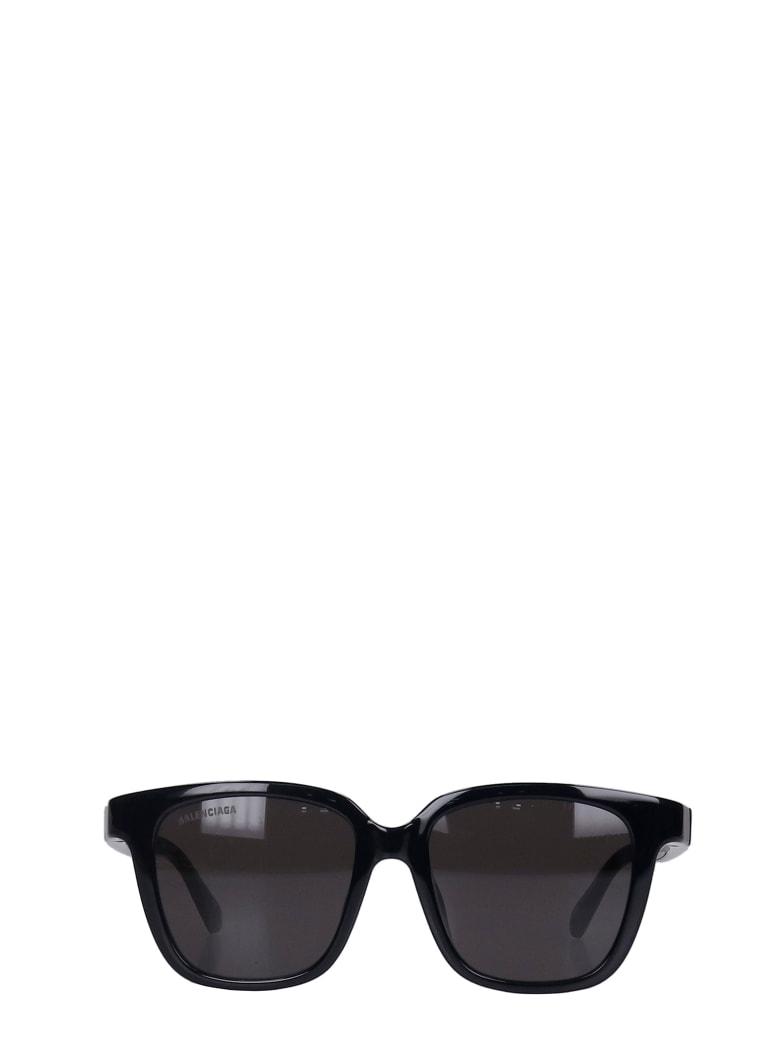 Balenciaga Sunglasses In Black Acrylic - black