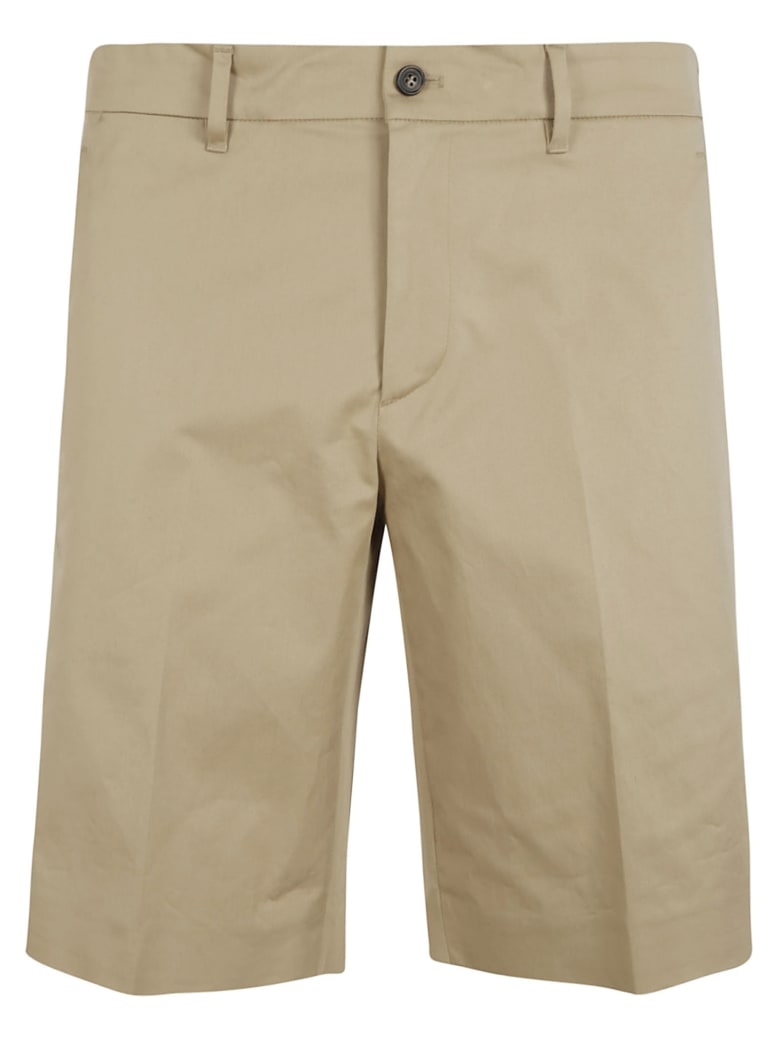 Prada Gabardine Stretch Shorts - Corda
