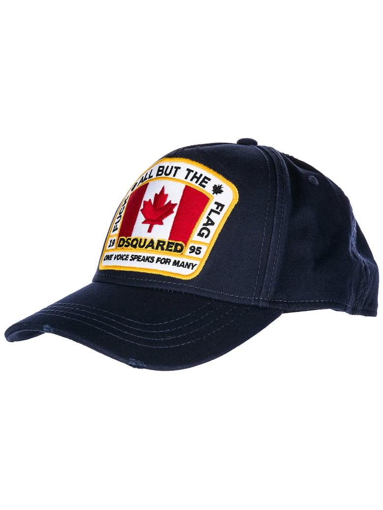 Dsquared2 Canada Baseball Cap - Navy
