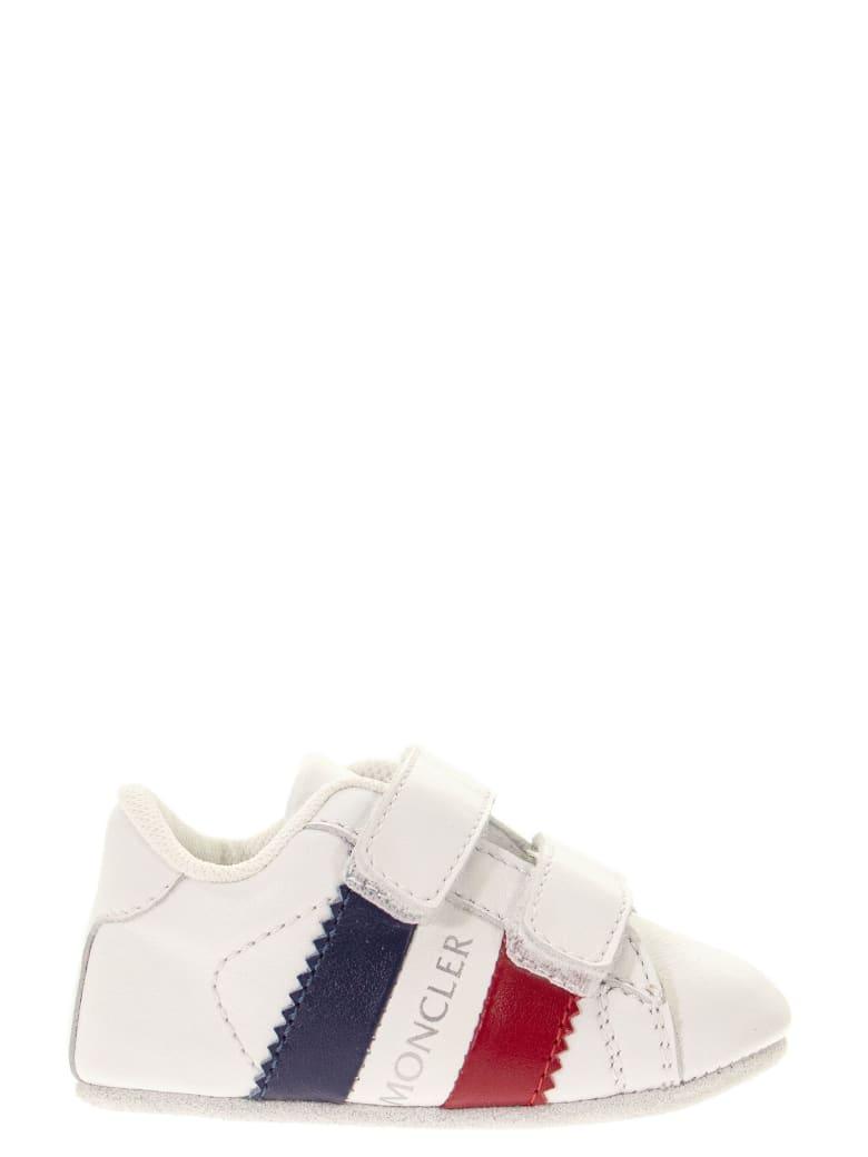 Moncler Newborn Sneakers - White