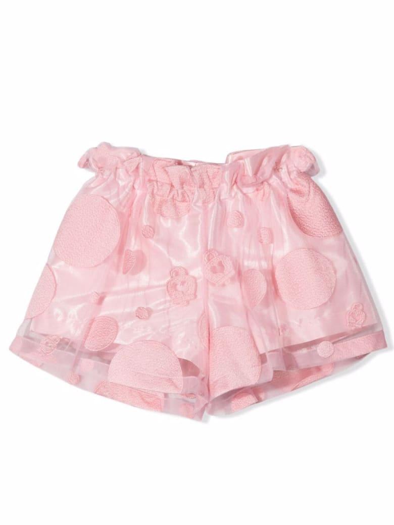 Simonetta Pink Tulle Shorts - Pink