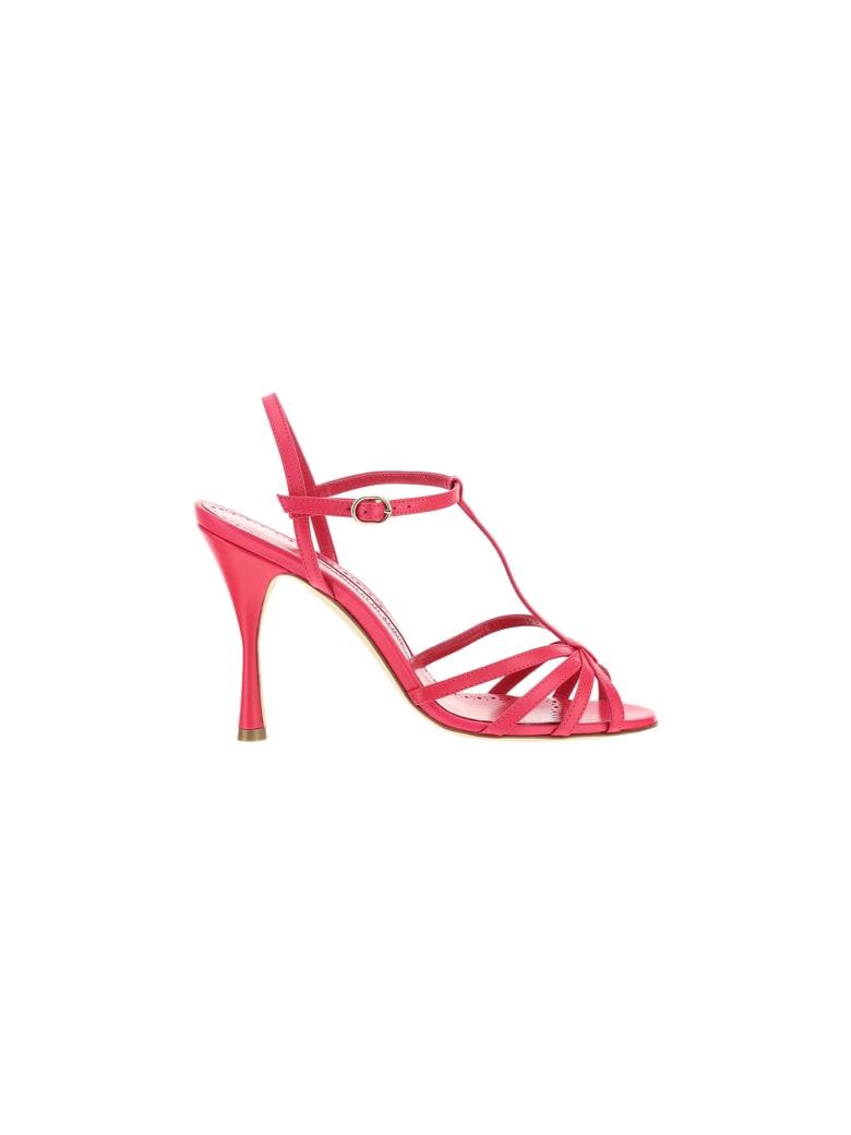 Manolo Blahnik Marana 105 Sandals - Dpnk