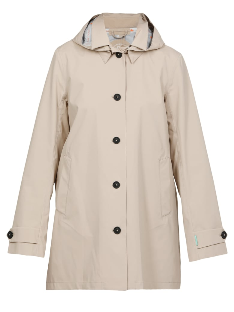 Save the Duck Tech Fabric Jacket - DESERT BEIGE