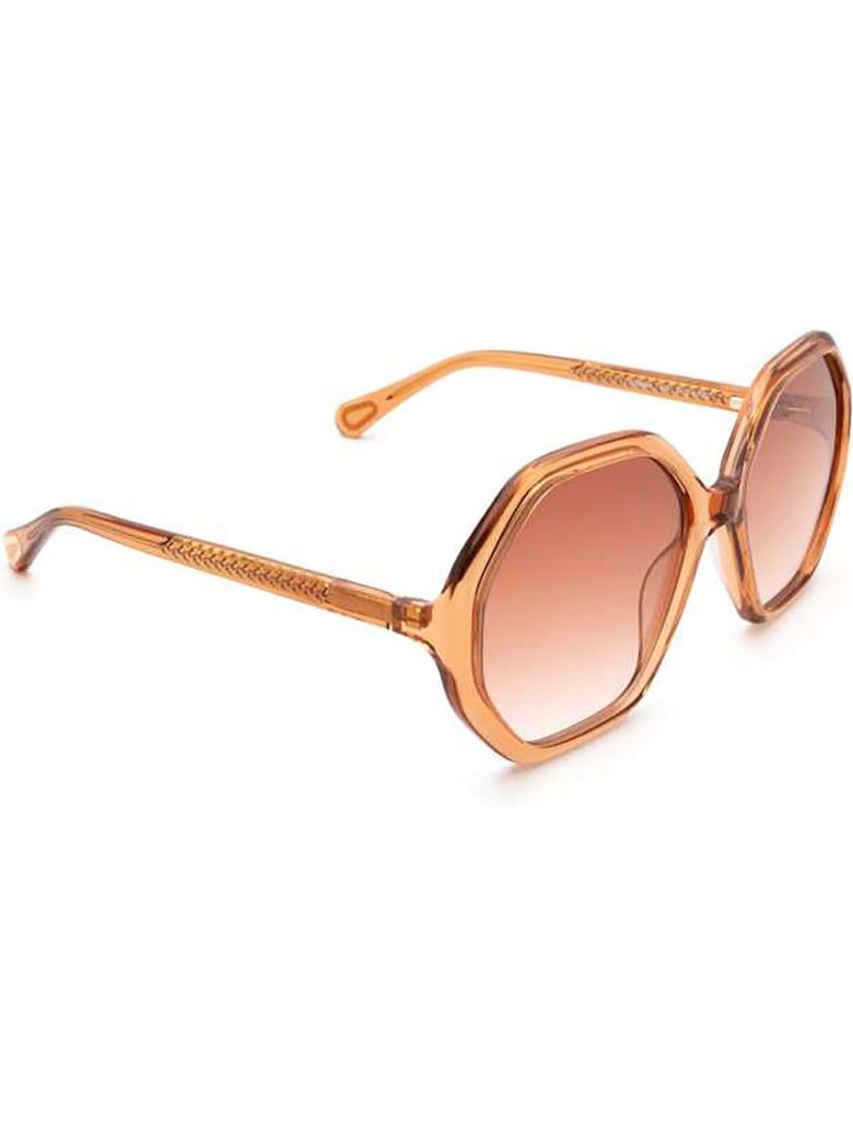 Chloé CC0004S Sunglasses - Orange Orange Orange