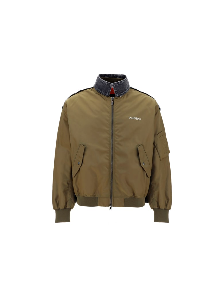 Valentino Jacket - Army/grigio