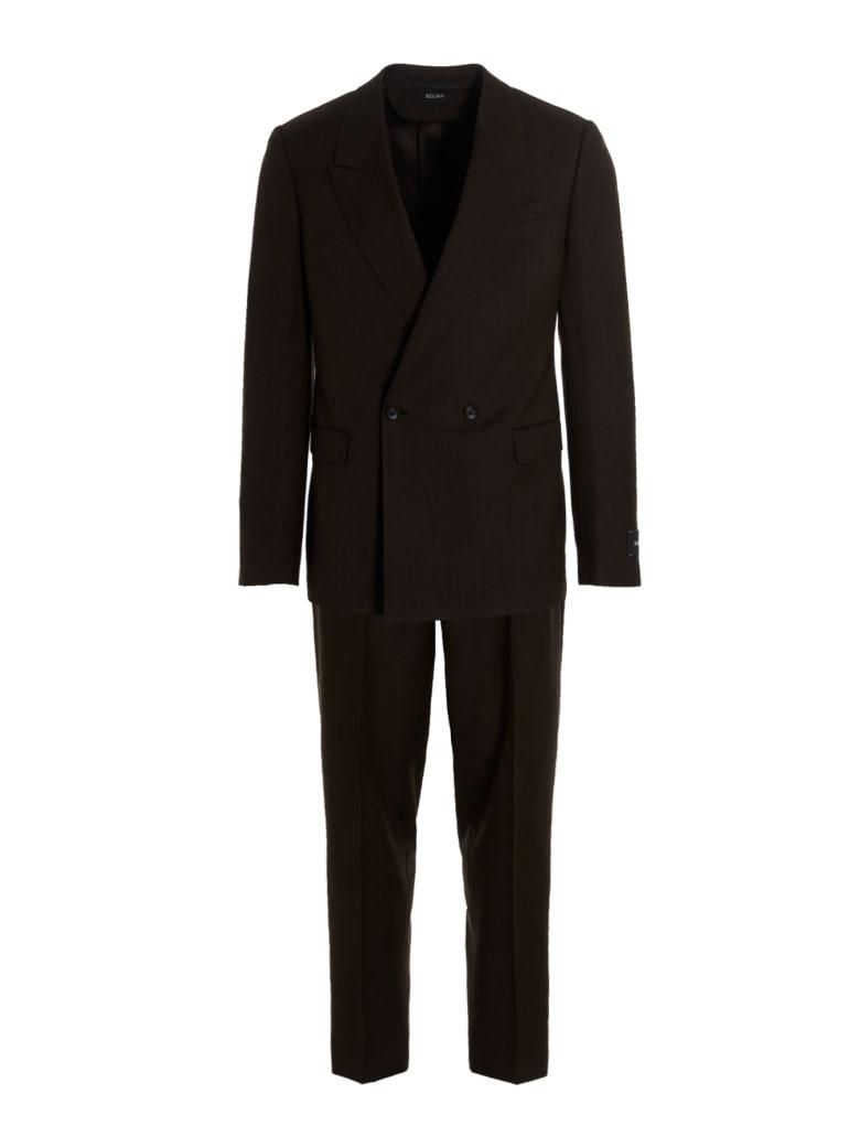 Z Zegna Suit - Brown