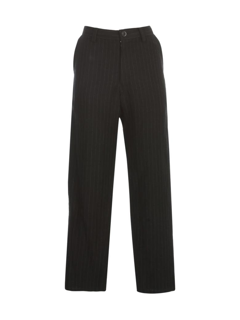 Y's O Waist String Thin Pants - Black