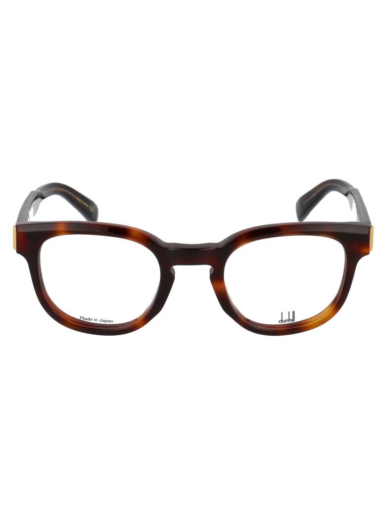 Dunhill Du0003o Glasses - 002 HAVANA HAVANA TRANSPARENT