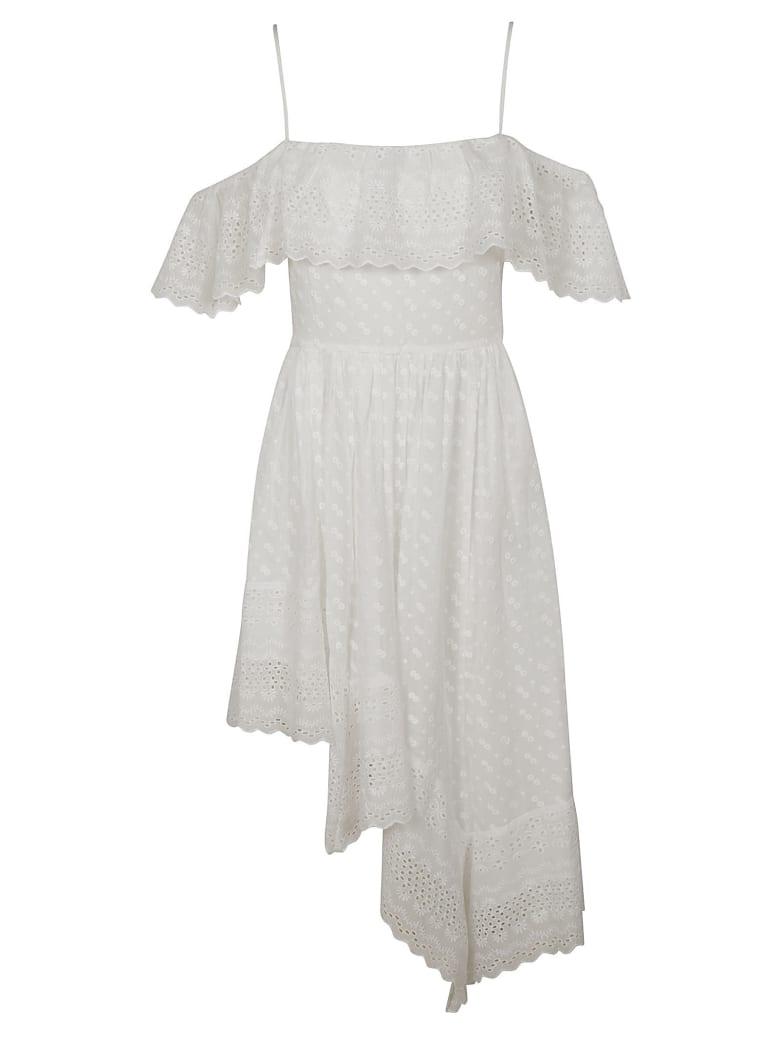 Isabel Marant Timoria Dress - White