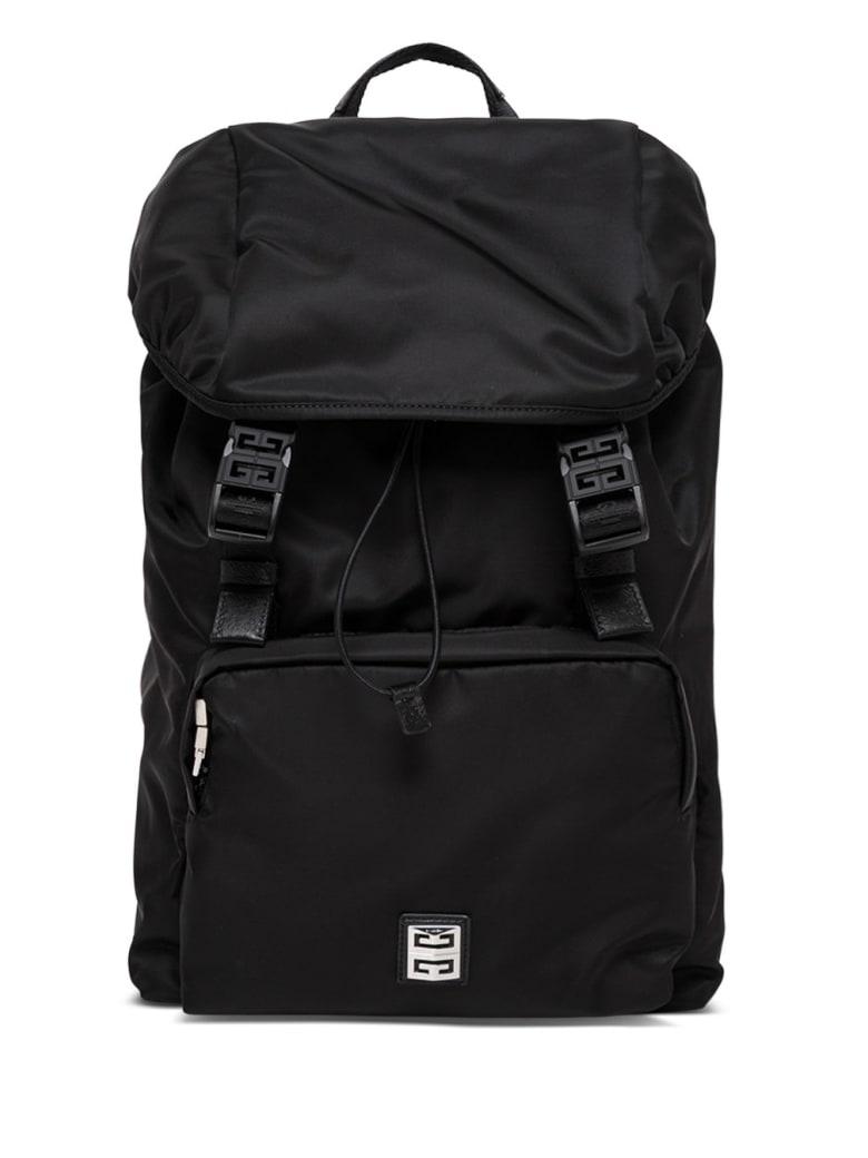 Givenchy 4g Light Black Nylon Backpack - Black