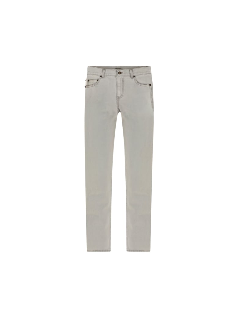 Saint Laurent Jeans - Grey super bleach