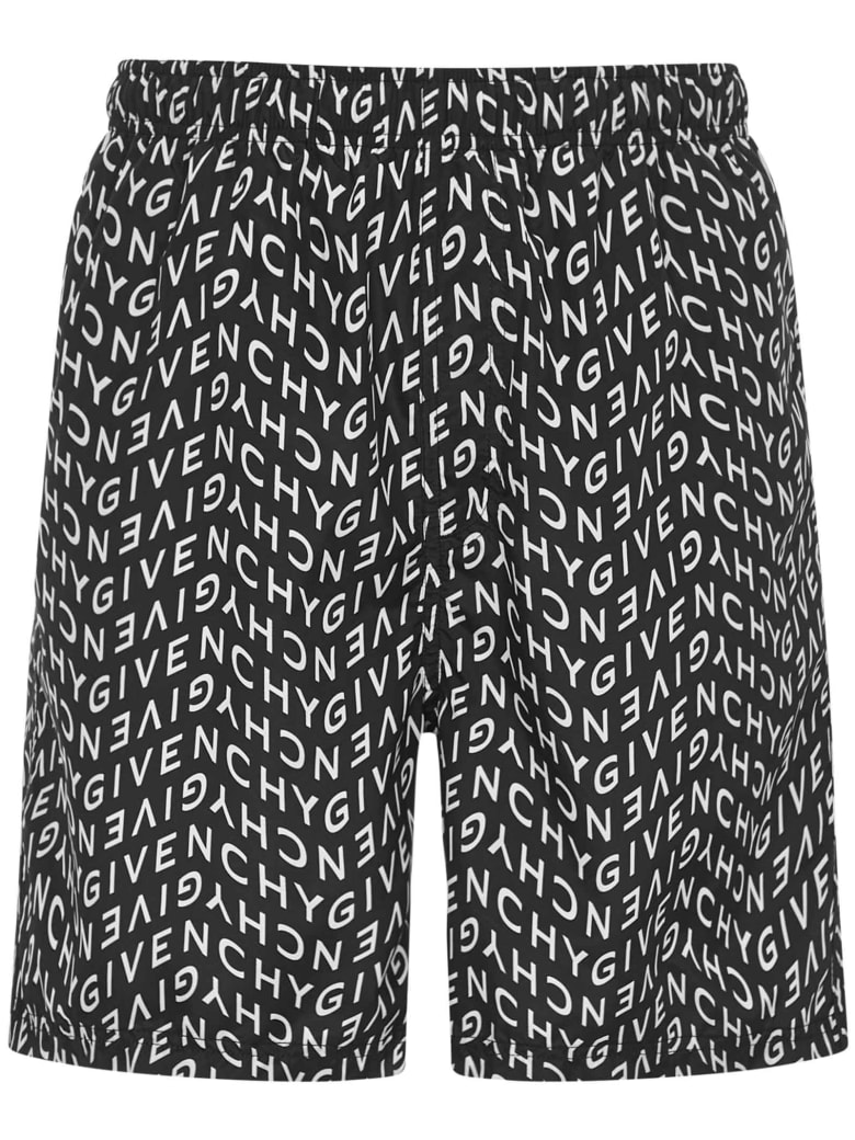 Givenchy Refracted Swimsuit - Black