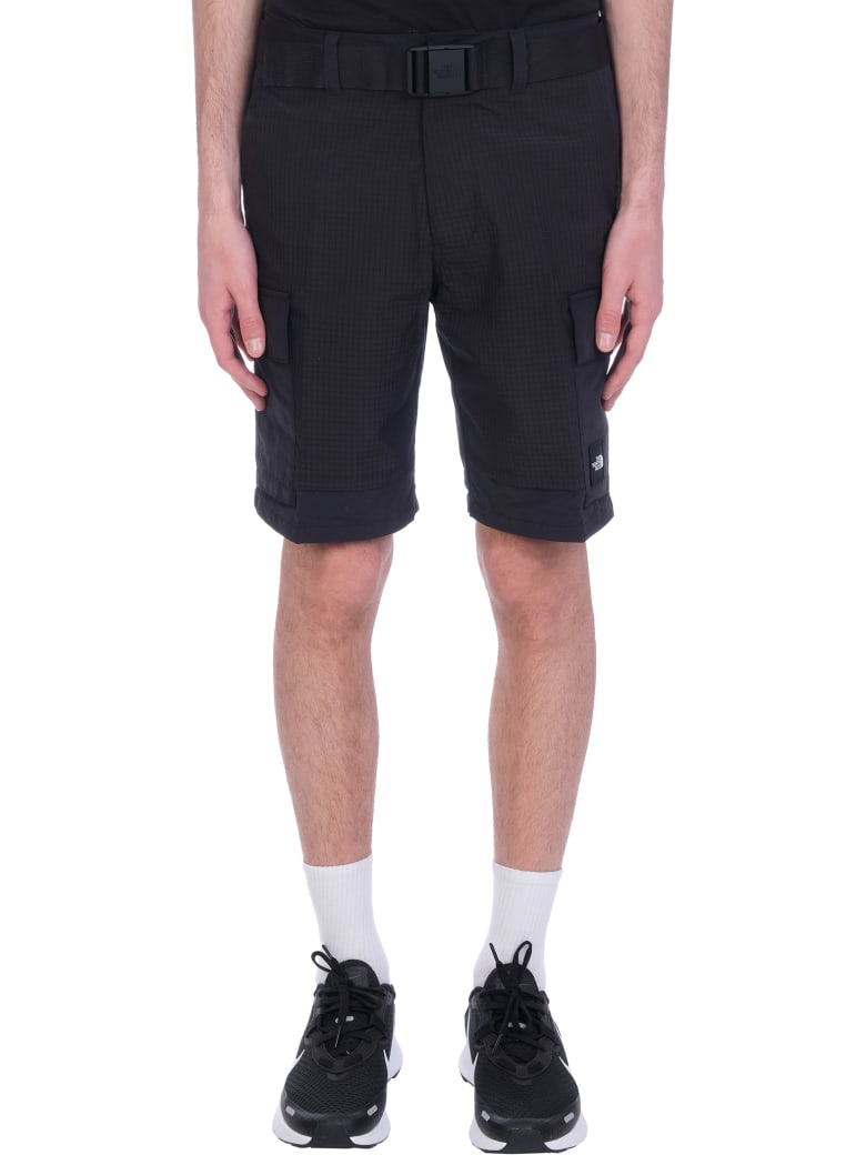 The North Face Shorts In Black Cotton - black