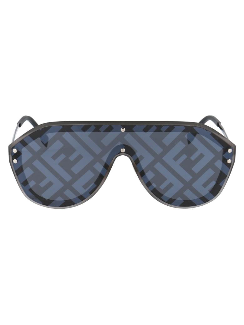 Fendi Ff M0039/g/s Sunglasses - V81MD DKRUT BLK