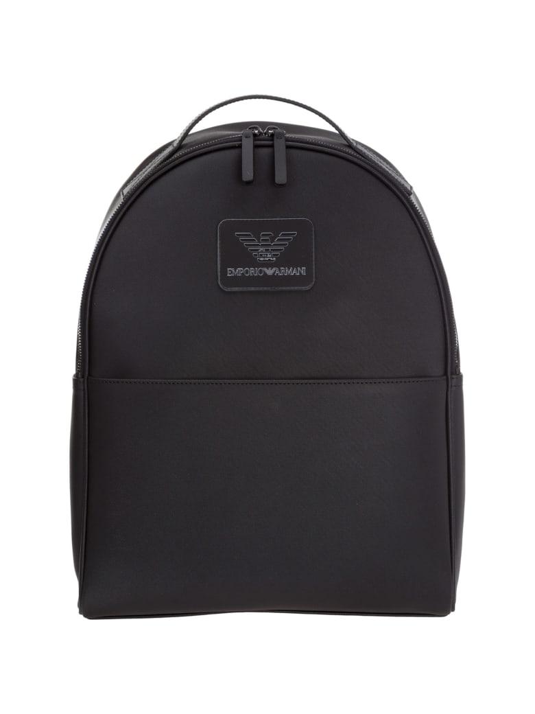 Emporio Armani Ikonik Backpack - Black