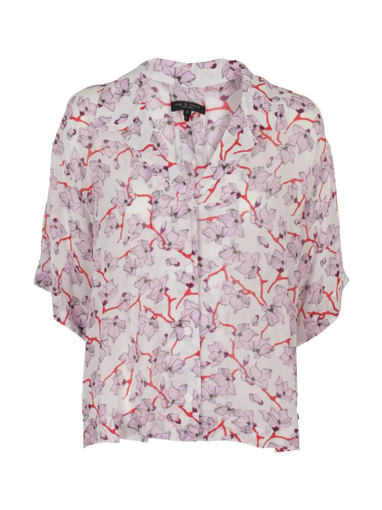 Rag & Bone Shirt - Pnkfloral Rosa