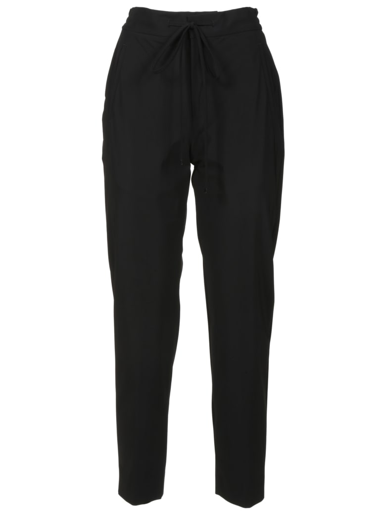 PT01 Drawstring Waist Cropped Trousers