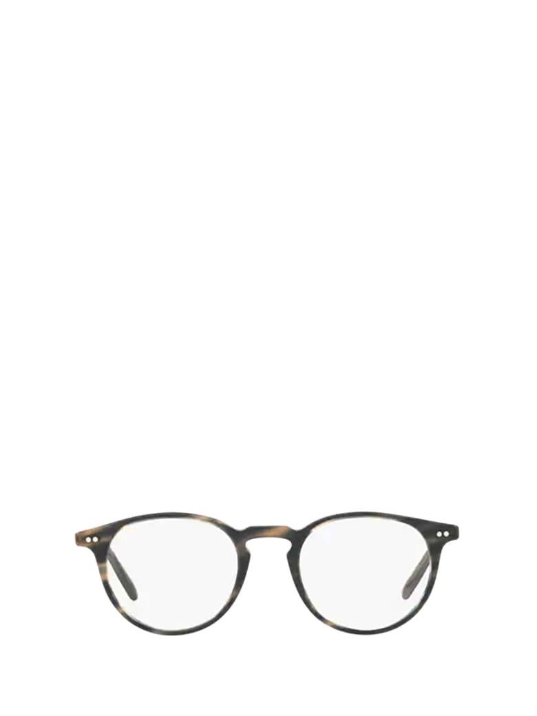 Oliver Peoples Oliver Peoples Ov5362u Semi Matte Blue Cocobolo Glasses - Semi Matte Blue Cocobolo