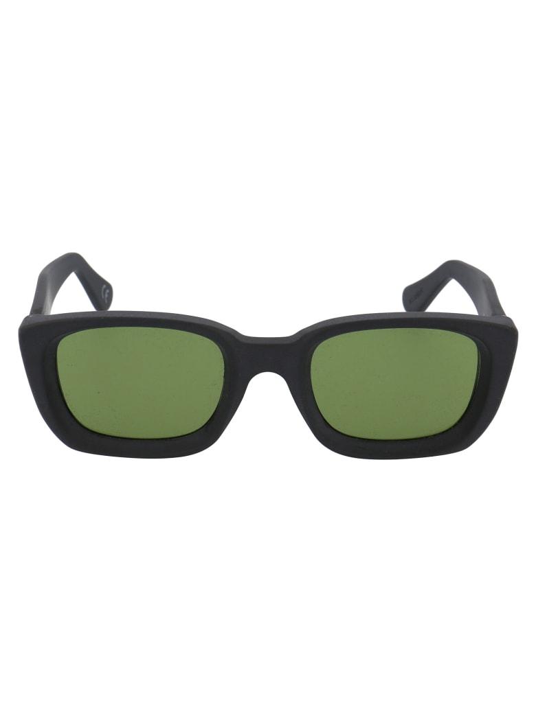 RETROSUPERFUTURE Lira Sunglasses - BLACK MATTE