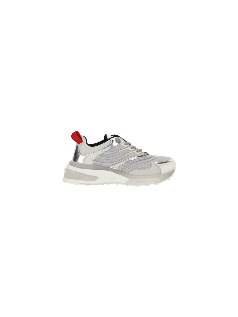Givenchy Giv 1 Sneakers - Silvery
