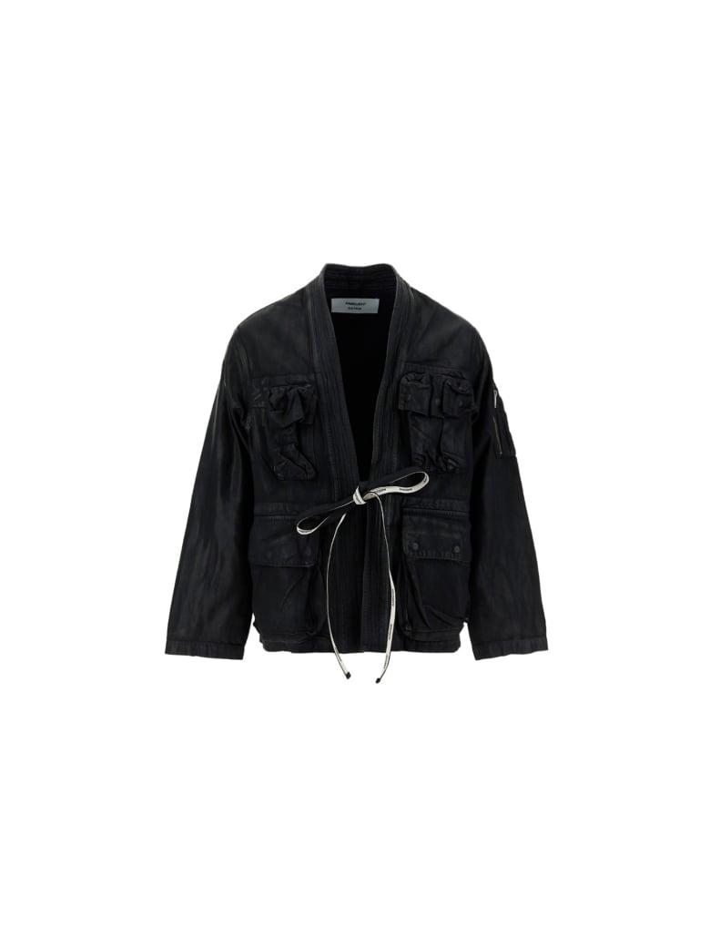 AMBUSH Kimono Jacket - Black denim