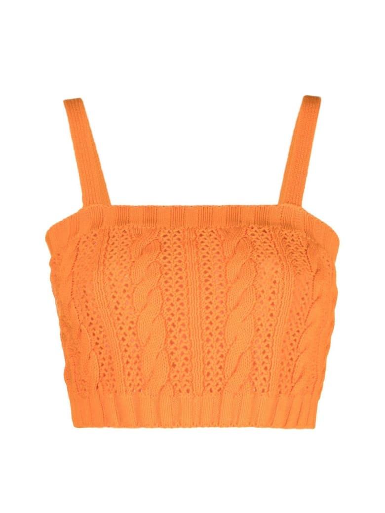 MSGM Knitwear Top - Orange
