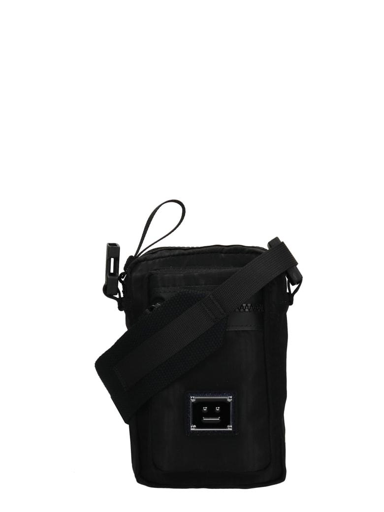 Acne Studios Shoulder Bag In Black Nylon - black