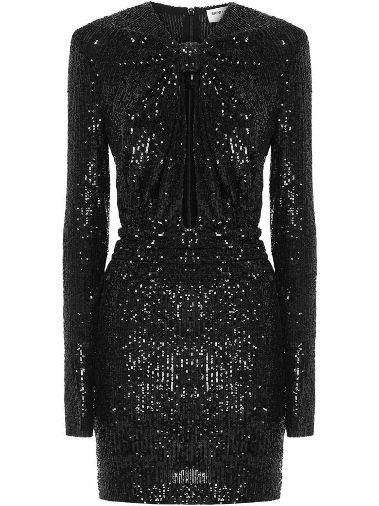 Saint Laurent Mini Dress - Nero
