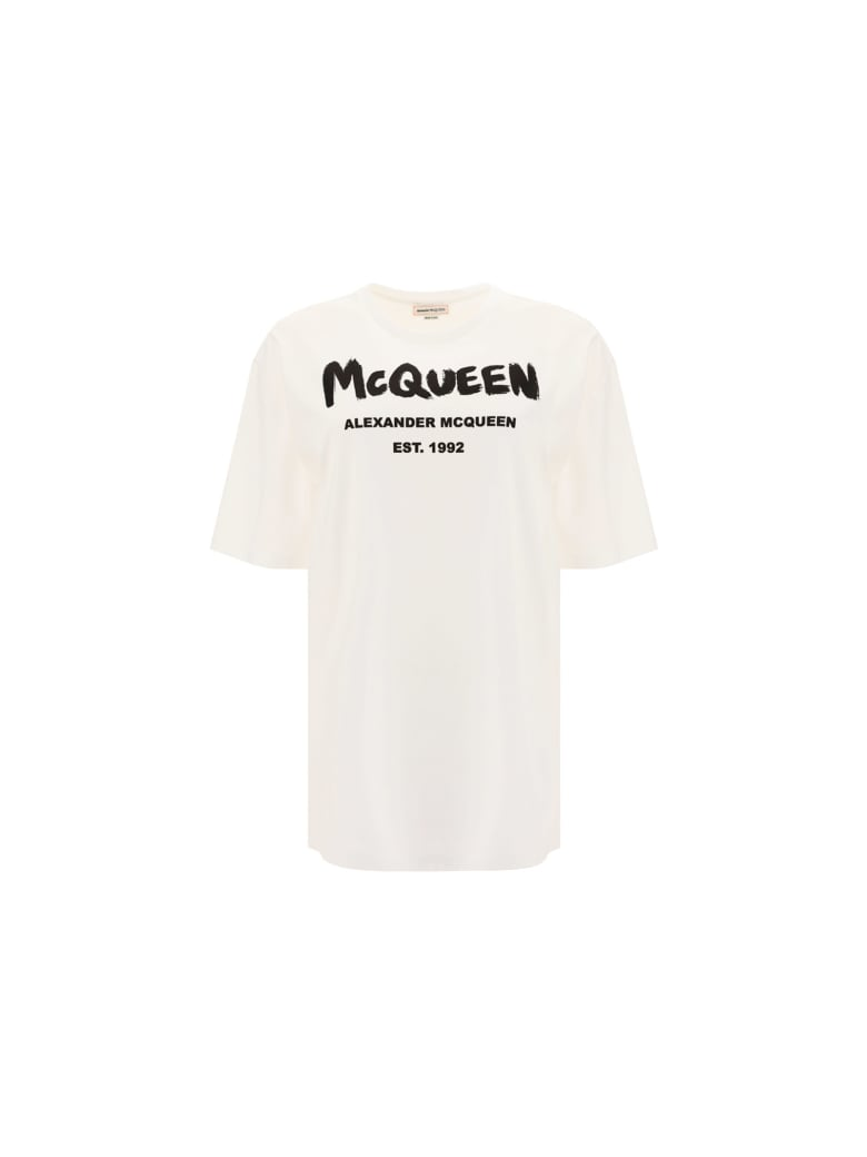 Alexander McQueen T-shirt - White/black