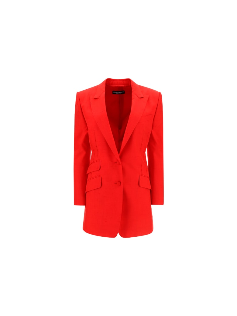 Dolce & Gabbana Jacket - Rosso lampone
