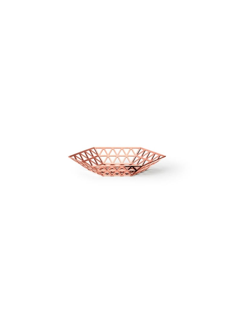 Ghidini 1961 Tip Top - Flat Tray Rose Gold - Rose gold