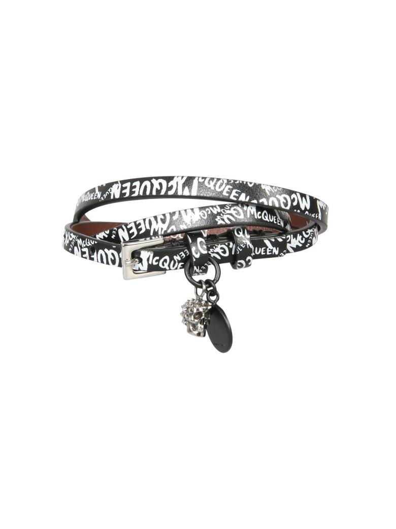 Alexander McQueen Three Turns Bracelet - Nero