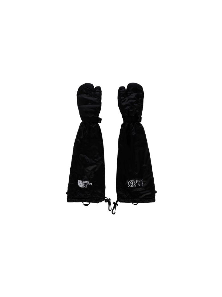 The North Face Mm6 X The North Face Gloves - Nero