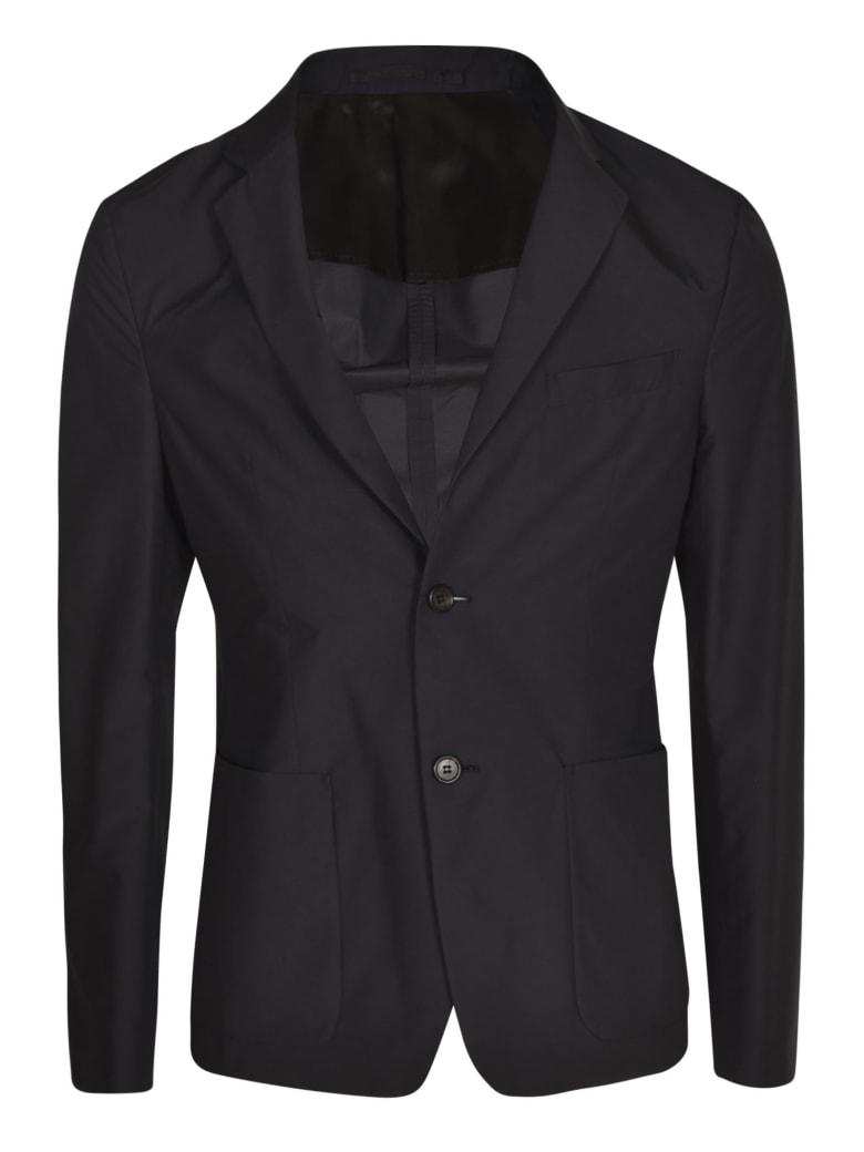 Prada Slim Fit Buttoned Blazer - Black