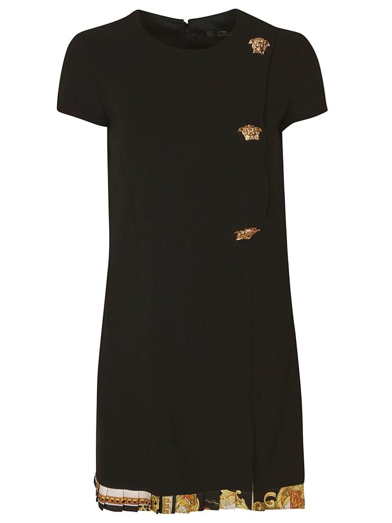 Versace Cady Stretch Fabric Dress - Black
