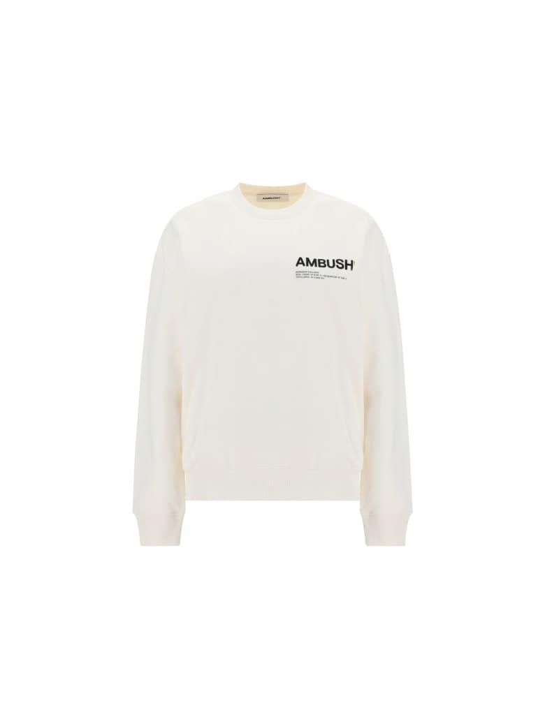 AMBUSH Sweatshirt - Tofu black
