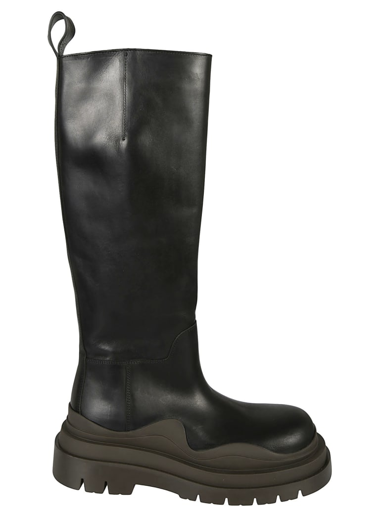 Bottega Veneta Tire Boots - Black