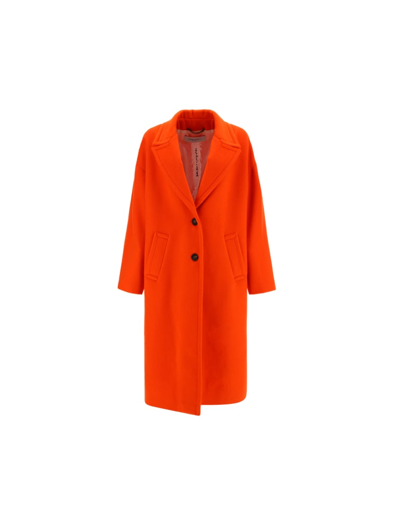 Golden Goose Coat - Tangerine tango
