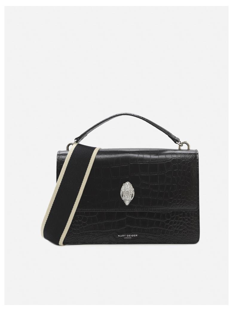 Kurt Geiger Shoreditch 1963 Leather Bag - Black